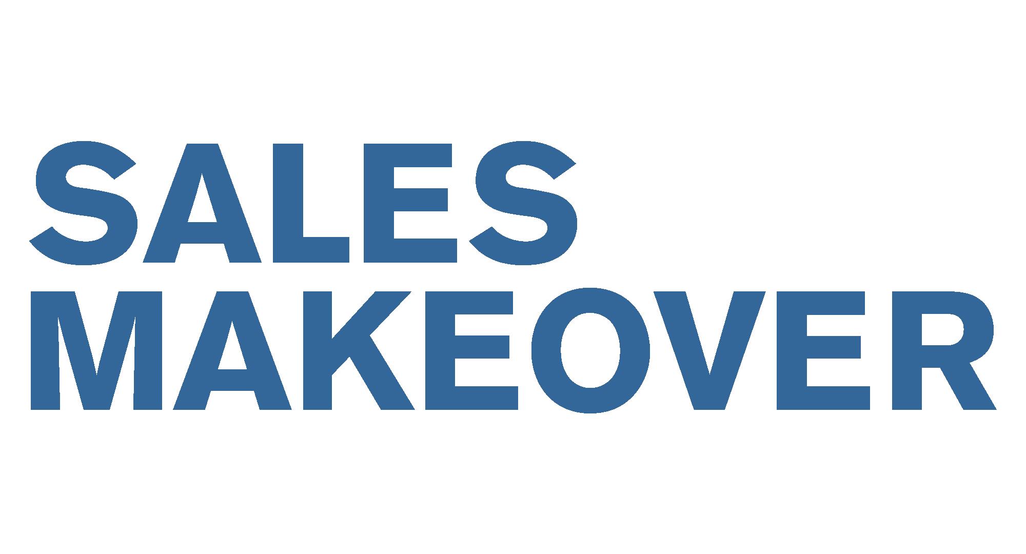 Sales Makeovers Webshop